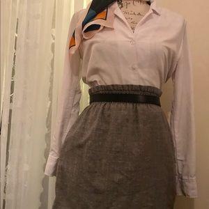 J Crew elastic waist skirt